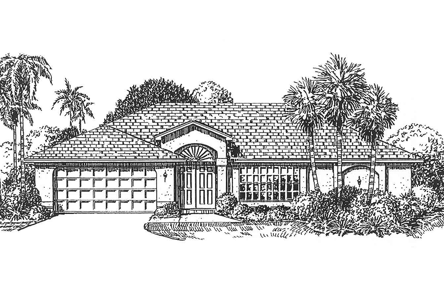 Hacienda III elevation