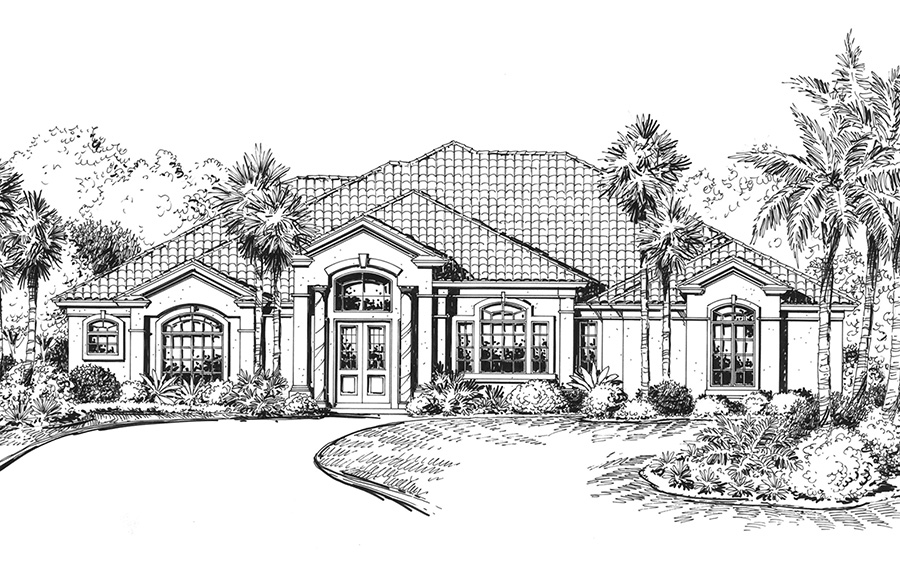 Idlebrook front elevation