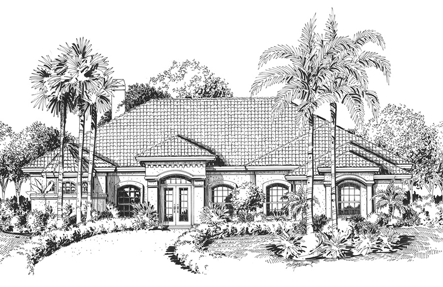 baybrook front elevation